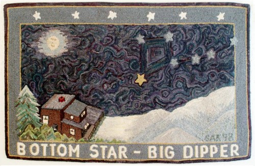 Stephanie-Allen-Krauss-Bottom-Star-Big-Dipper-Rug-1998